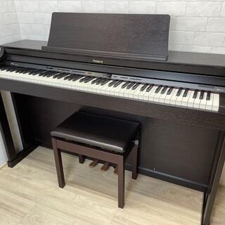 中古電子ピアノ ローランド HP305-RW(電子ピアノ)