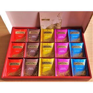 トワイニング紅茶☆クオリティーコレクション☆5種類  計105袋(茶)