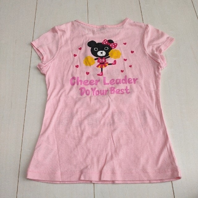 DOUBLE.B(ダブルビー)のダブルビー  Tシャツ キッズ/ベビー/マタニティのキッズ服女の子用(90cm~)(Tシャツ/カットソー)の商品写真