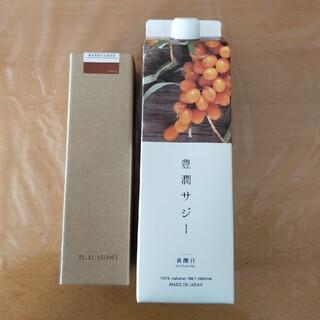 豊潤サジー1リットル&生姜みつ