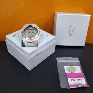 ベビージー(Baby-G)のBaby-g 電波ソーラー 箱付き 新品二次電池交換済み(腕時計(デジタル))