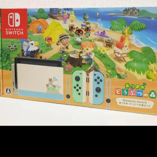 Nintendo Switch - Nintendo Switch  あつまれどうぶつの森セット 本体 ゲーム