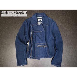 Maison Martin Margiela - メゾンマルジェラ 22万最高級デニムライダースジャケット