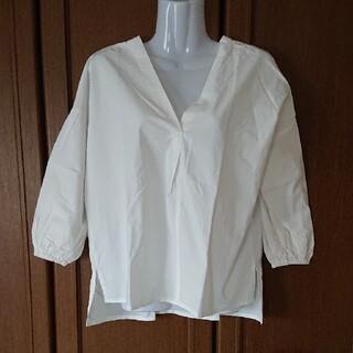 ティティベイト(titivate)のtitivate ボリューム袖スキッパーシャツ(シャツ/ブラウス(長袖/七分))