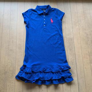 Ralph Lauren - 美品 ビッグポニー ラルフローレン ワンピース 160cm  子供服 80