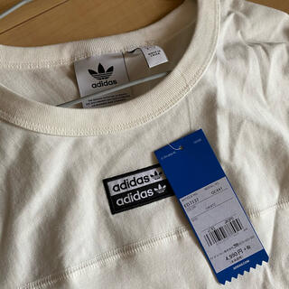 アディダス(adidas)のadidas ロゴ tシャツ(Tシャツ/カットソー(半袖/袖なし))