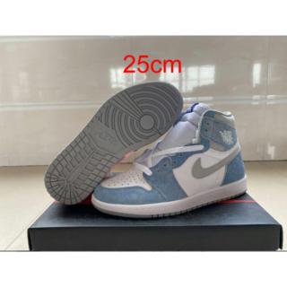 Nike AirJordan1 25cm エアジョーダン1 ハイパーロイヤル(その他)