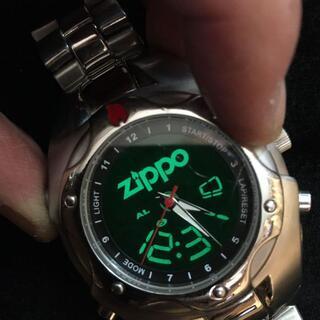 ジッポー(ZIPPO)の送料込み ZIPPO メンズ腕時計(腕時計(アナログ))