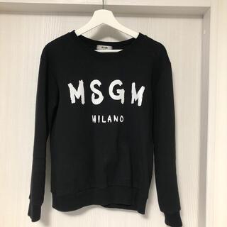 エムエスジイエム(MSGM)のMSGM 裏起毛トレーナー(トレーナー/スウェット)