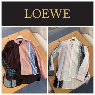 ロエベ(LOEWE)のロエベ 期間限定SALE ロゴ刺繍デザインコットントップス(シャツ)