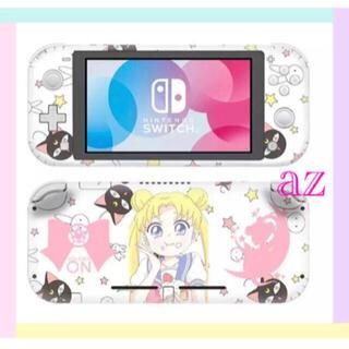 ニンテンドースイッチ(Nintendo Switch)の◎SALE◎ セーラームーン⑩ 任天堂SwitchLite 保護スキンシール(その他)