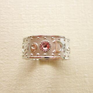 ディズニー(Disney)の東京ディズニーランド ロゴ リング フリーサイズ ピンク(リング(指輪))