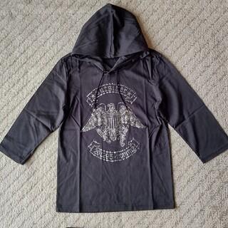 ニーキュウイチニーキュウゴーオム(291295=HOMME)の291295=HOMME  イーグルラインストーン7分袖フーデッドカットソー(Tシャツ/カットソー(七分/長袖))
