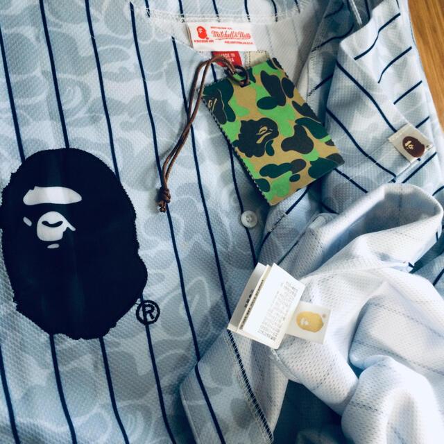 A BATHING APE(アベイシングエイプ)のA bathing ape mitchell&ness バスケット シャツ メンズのトップス(Tシャツ/カットソー(半袖/袖なし))の商品写真