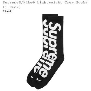 Supreme - 26-27.5 Nike Lightweight Crew Socks 黒