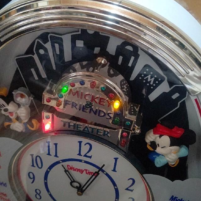 SEIKO(セイコー)のSEIKO ディズニータイム からくり FW510W 掛け時計 ジャンク品 インテリア/住まい/日用品のインテリア小物(掛時計/柱時計)の商品写真