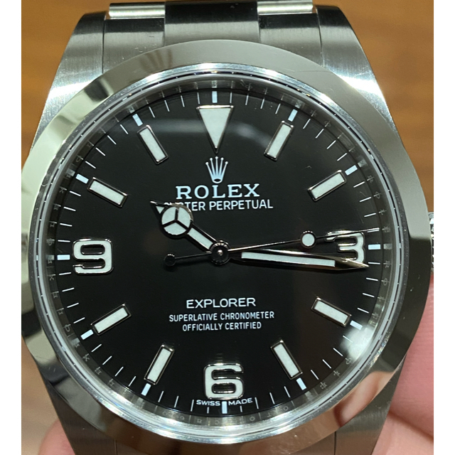 ROLEX(ロレックス)の【nomi様専用】ロレックスエクスプローラー1 メンズの時計(腕時計(アナログ))の商品写真