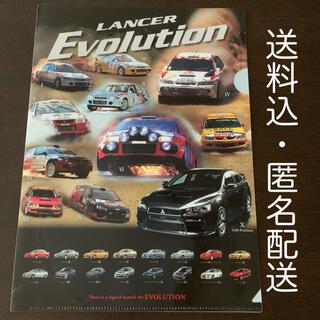 MITSUBISHI MOTORS ランサーエボリューション クリアファイル(ファイル/バインダー)