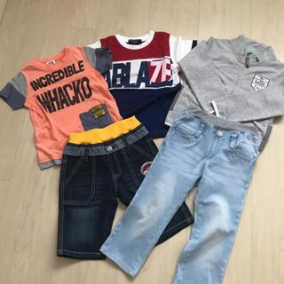 ハッカキッズ(hakka kids)の新品タグ付きあり 110サイズまとめ売り(Tシャツ/カットソー)