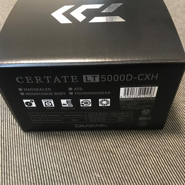 DAIWA(ダイワ)の19セルテートLT 5000D-CXH 新品 スポーツ/アウトドアのフィッシング(リール)の商品写真