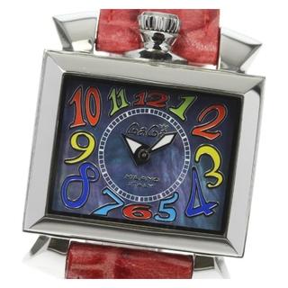 ガガミラノ(GaGa MILANO)のガガミラノ ナポレオーネ  6030.2 クォーツ レディース 【中古】(腕時計)