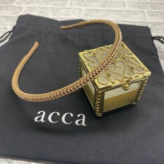 アッカ(acca)のacca スワロフスキーカチューシャ(カチューシャ)
