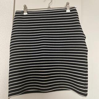 moussy - moussy ボーダータイトスカート