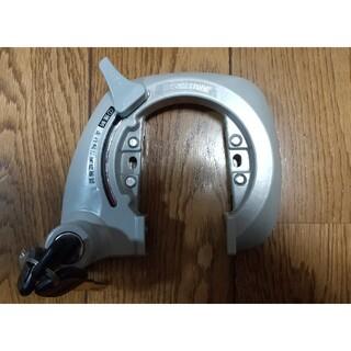 ブリヂストン(BRIDGESTONE)のアルベルト用後輪錠·新品·鍵3枚付(パーツ)