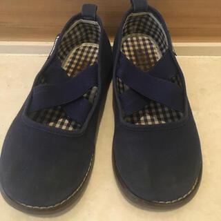 ファミリア(familiar)のファミリア 定番靴紺ズック 男の子女の子 16センチ(スリッポン)
