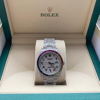 ROLEX - ロレックス  デイトジャスト41 フルダイヤ レインボー