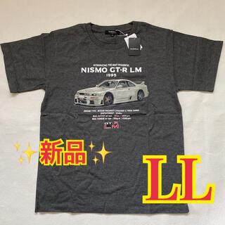 ニッサン(日産)の【新品・未使用】日産 NISMO GT-R LM デザイン LLサイズ Tシャツ(Tシャツ/カットソー(半袖/袖なし))