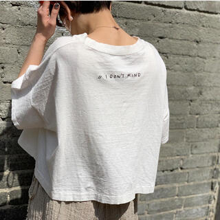 TODAYFUL - TODAYFUL★刺繍Tシャツ