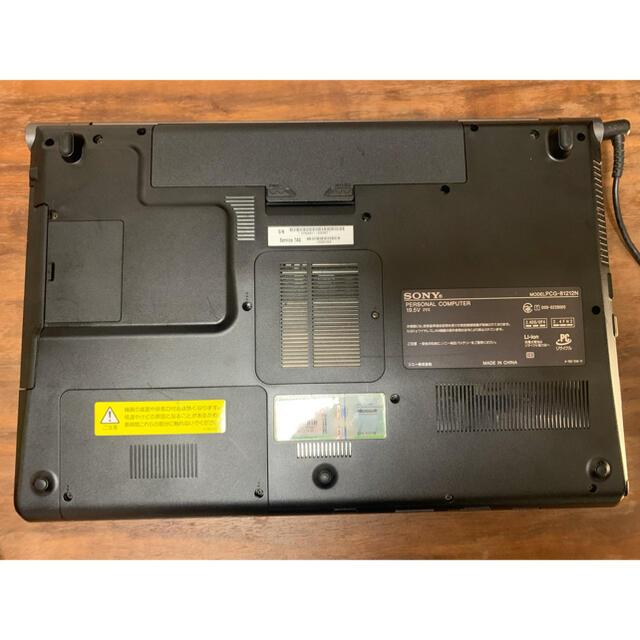 SONY(ソニー)のVAIO ノートパソコン PCG-81212N スマホ/家電/カメラのPC/タブレット(ノートPC)の商品写真