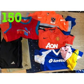 ナイキ(NIKE)の150 サッカー 速乾Tシャツ ハーフパンツ ノースリーブ NIKE(Tシャツ/カットソー)