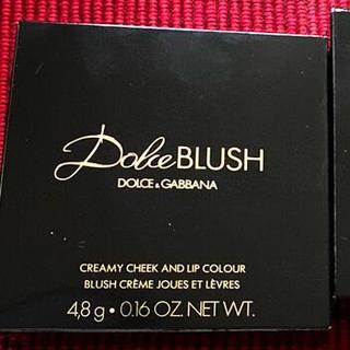 ドルチェアンドガッバーナ(DOLCE&GABBANA)のドルチェ&ガッバーナ ドルチェブラッシュ クリーミーチーク&リップカラー 2色(チーク)