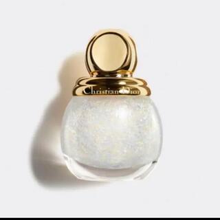 Christian Dior - 【Dior ネイルエナメル】ディオリフィックグリッタートップコート 001