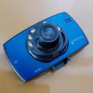 ☆ドライブレコーダー〈DVR-4000X〉ブルー/新品未使用☆