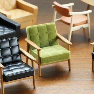 カリモク家具 - カリモク60 ミニチュア Kチェア 椅子  モケットグリーン