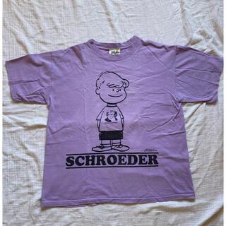 ピーナッツ(PEANUTS)のPEANUTS SHROEDER tシャツ Mサイズ(Tシャツ/カットソー(半袖/袖なし))