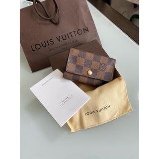 LOUIS VUITTON - LOUIS VUITTON ルイヴィトン キーケース6連 ダミエ ミュルティクレ