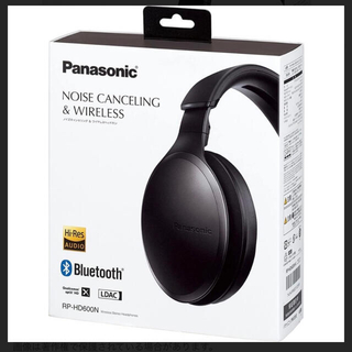 Panasonic - Panasonic RP-HD600N-K  ブラック色 新品未開封