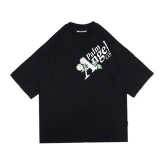 palm angels logo Tシャツ(Tシャツ/カットソー(半袖/袖なし))