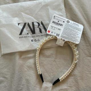 ザラ(ZARA)の新品タグ付き♡ZARA kidsパールカチューシャ(その他)