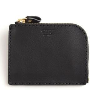 ヘルツ(HERZ)のオリジナルオーダー金具付き☆HERZ ヘルツ L字ファスナーミニ財布(財布)