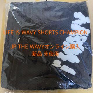 チャンピオン(Champion)のJP THE WAVY CHAMPION SHORTS LIFE IS WAVY(ショートパンツ)