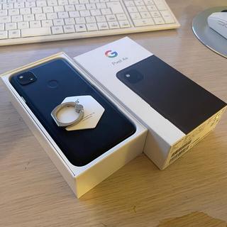 Google Pixel - Google pixel4a 128GB ジャストブラック 画面割れジャンク
