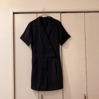 ジーユー(GU)の【GU】サファリジャンプスーツ(半袖)Y+E(その他)