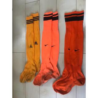adidas - 【専用】サッカー ハイソックス(25-27cm)3足セット