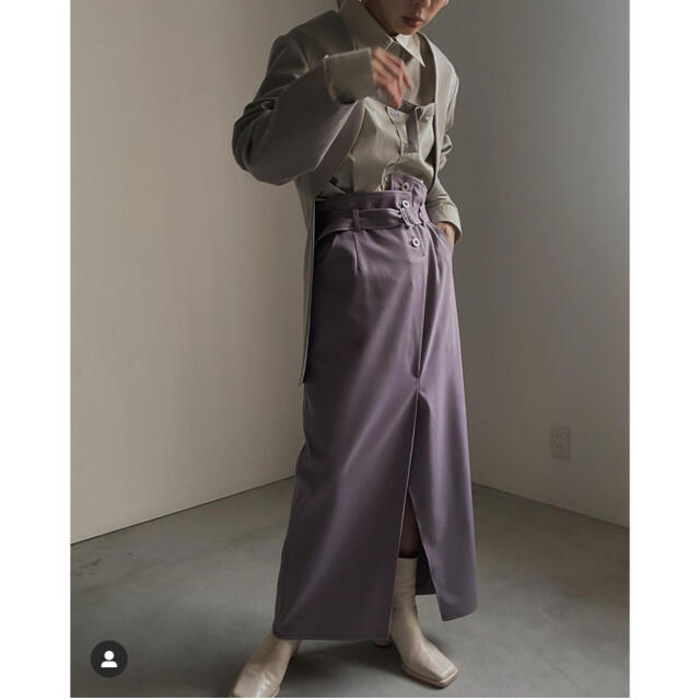 Ameri VINTAGE(アメリヴィンテージ)のAMERI☆ HIGH WAIST PENCIL SKIRT レディースのスカート(ロングスカート)の商品写真