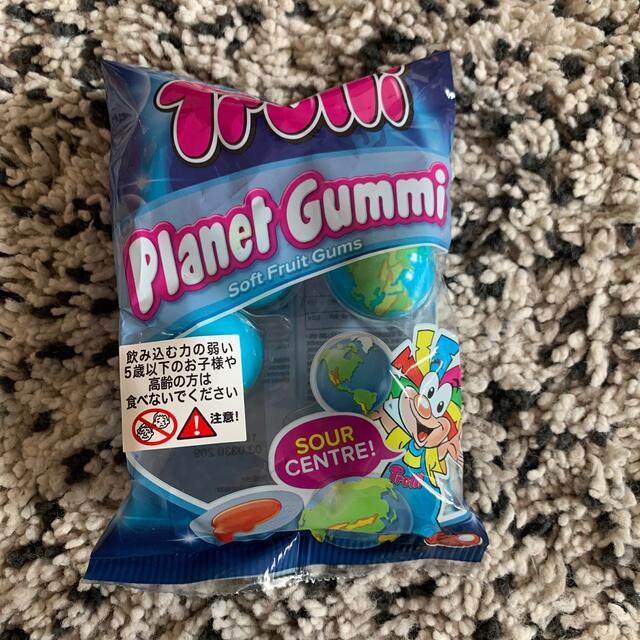 トローリ プラネットグミ 地球グミ 4個入り 1袋 食品/飲料/酒の食品(菓子/デザート)の商品写真